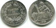 Piaster 1913 Französisch Indochina,  ss  49,50 EUR  +  7,00 EUR shipping