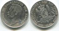 Taler 1864 Hessen Darmstadt, Ludwig III.1848-1877, f.vz  275,00 EUR  +  7,00 EUR shipping