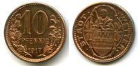 10 Pfennig Probe 1917 Deutschland ~ Wetter - Abschlag in Kupfer / Aufla... 555,00 EUR