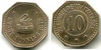 10 Pfennig 1917 Kaiserreich ~ Tönning / Probe - Abschlag in Silber ~ ~ ... 295,00 EUR265,00 EUR