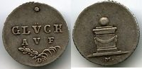 Marke o.J. Altdeutschland, Harz / Bergwerksmarke - Glück auf, ss/vz  75,00 EUR  +  7,00 EUR shipping