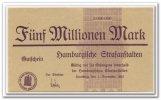 5 Mio. Mark 1923 Deutschland ~ Hamburg - Hamburger Strafanstalten ~ ~ f... 85,00 EUR76,50 EUR  +  7,00 EUR shipping