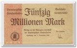 50 Mio. Mark 1923 Deutschland ~ Hamburg - Hamburger Strafanstalten ~ ~ ... 75,00 EUR67,50 EUR  +  7,00 EUR shipping