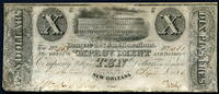 United States of America 10 Dollars 1836 ~ Restauriert ~ USA / Banque de... 999,99 EUR