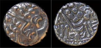 stater ca65-58BC Celtic Celtic Britain Durotriges gold stater  Chute type  EF
