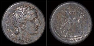 tetradrachm 317-289BC Sicily Sicily Syracu...