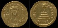 Byzanthine solidus 578-582AD VF+ Tiberius II AV solidus Constantinople mint 649,00 EUR  plus 8,00 EUR verzending
