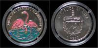 1 peso 1994 Cuba Cuba 1 peso  1994- Flamingos Proof  20,00 EUR  +  2,00 EUR shipping