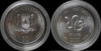 10 shilling 2000 Somalia Somalia 10 shilling 2000- Snake UNC  10,00 EUR  +  8,00 EUR shipping
