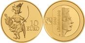 10 EURO 2016 LUXEMBURG MAUS KETTI - BEKANN...