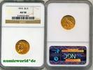 2 1/2 Dollars 1915 USA USA - 2 1/2 Dollars - 1915 NGC AU 58  315,00 EUR  plus 17,00 EUR verzending