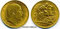 1/2 Sovereign 1907 Großbritannien / GB Großbritannien / GB - 1/2 Sovere... 165,00 EUR  plus 17,00 EUR verzending