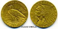 2 1/2 Dollars 1915 USA USA - 2 1/2 Dollars - 1915 vz  295,00 EUR  plus 17,00 EUR verzending