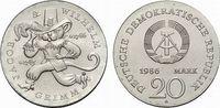 20 Mark 1986   Fast Stempelglanz  225,00 EUR