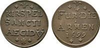 Cu Armenpfennig 1699 Münster, Bistum Friedrich Christian von Plettenber... 465,00 EUR free shipping