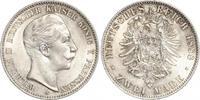 2 Mark 1888  A Preußen Wilhelm II. 1888-1918. Winzige Kratzer , vorzügl... 500,00 EUR free shipping