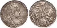 Rubel 1733 Russland Anna Ivanovna 1730-1740. Prachtexemplar. Schöne Pat... 3050,00 EUR