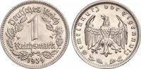 1 Mark 1939  G Drittes Reich  Fast Stempelglanz  320,00 EUR free shipping