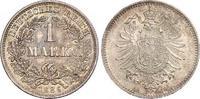1 Mark 1886  D Kleinmünzen  Schöne Patina. Fast Stempelglanz / Stempelg... 140,00 EUR  +  6,00 EUR shipping