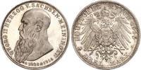 3 Mark 1915 Sachsen-Meiningen Georg II. 1866-1914. Feine Patina. Minima... 480,00 EUR free shipping