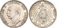 3 Mark 1909  A Anhalt Friedrich II. 1904-1918. Schöne Patina. Winzige K... 140,00 EUR  +  6,00 EUR shipping