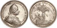 Silbermedaille 1739-1768 Hessen-Darmstadt Ludwig VIII. 1739-1768. Schön... 480,00 EUR