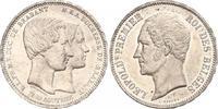 5 Francs 1853 Belgien- Leopold I. 1830-1865. Winziger Randfehler, vorzü... 160,00 EUR  +  6,00 EUR shipping