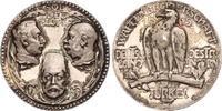 Silbermedaille 1915 Erster Weltkrieg Wilhelm II. und seine Verbündeten ... 400,00 EUR