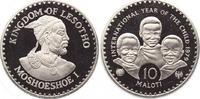 10 Maloti 1979 Lesotho, Königreich Moshoeshoe II. 1966-1990. Polierte P... 450,00 EUR free shipping
