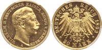 20 Mark Gold 1893  A Preußen Wilhelm II. 1888-1918. Polierte Platte. Wi... 925,00 EUR free shipping