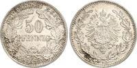 50 Pfennig 1877  H Kleinmünzen  Prachtexemplar. Fast Stempelglanz  270,00 EUR free shipping