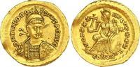 Gold 408-450 n. Chr. Kaiserzeit Theodosius II. 408-450. Kleiner Randfeh... 710,00 EUR free shipping