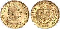 1/5 Libra Gold 1906 Peru Republik seit 1821. Vorzüglich  150,00 EUR  +  6,00 EUR shipping