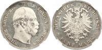 5 Mark 1874 Preußen Wilhelm I. 1861-1888. Erstabschlag. Etwas Patina, v... 925,00 EUR free shipping