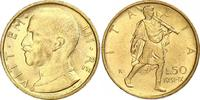 50 Lire Gold 1931  R Italien-Königreich Vittorio Emanuele III. 1900-194... 330,00 EUR free shipping