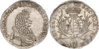 Sachsen-Albertinische Linie 2/3 Taler Johann Georg II. 1656-1680.