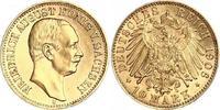 10 Mark Gold 1906  E Sachsen Friedrich August III. 1904-1918. Winzige K... 630,00 EUR free shipping