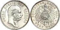 5 Mark 1904  E Sachsen Georg 1902-1904. Prachtexemplar. Minimaler Randf... 320,00 EUR free shipping