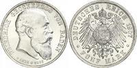 5 Mark 1907 Baden Friedrich I. 1856-1907. Prachtexemplar. Winzige Kratz... 240,00 EUR free shipping