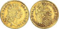 1/2 Karolin Gold 1730 Bayern Karl Albrecht 1726-1745. Vorzüglich  925,00 EUR free shipping