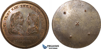 Bronze Medal 1721 France Louis XV, Wedding to Marie Anne Victoire of Sp... 169,00 EUR  +  15,00 EUR shipping