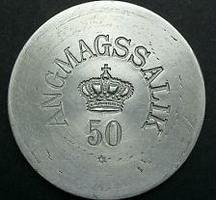 50 Øre Angmassalik token Nd (1905) Greenla...