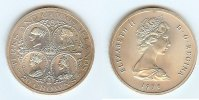 Turks&caicos Islands 20 Crowns 1976 unz  35,00 EUR plus 10,00 EUR verzending