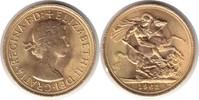 Sovereign 1963 Grossbritannien Elizabeth II. Gold Sovereign 1963 GOLD. ... 300,00 EUR