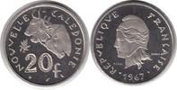 Probe 20 Francs 1967 Französische Kolonien Neukaledonien Probe 20 Franc... 75,00 EUR  +  5,00 EUR shipping