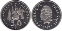 Probe 50 Francs 1967 Französische Kolonien Neukaledonien Probe 50 Franc... 75,00 EUR  +  5,00 EUR shipping