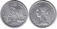Probe 2 Francs 1964 Komoren Probe 2 Francs 1964 Stempelglanz  80,00 EUR  +  5,00 EUR shipping