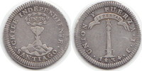 Real 1834 Chile Chile, Republik seit 1818 Real 1834 IJ sehr schön  240,00 EUR  +  5,00 EUR shipping