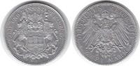 Probe 2 Mark 1914 Kaiserreich Hamburg 1876-1925 Probe 2 Mark 1914 J (Mi... 795,00 EUR
