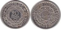 Probe Piedfort 20 Francs AH1366 Marokko Französisches Protektorat Probe... 495,00 EUR  +  5,00 EUR shipping